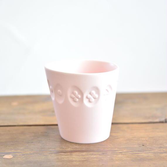 """ミナ ペルホネン / """"Choucho"""" コドモの器 カップ ピンク"""