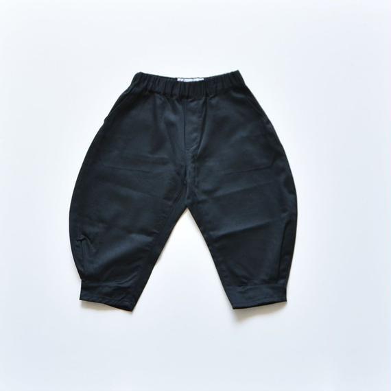 【 nunu forme 2018AW 】10-618-007A ヘムタックカーブパンツ / Black / レディースサイズ