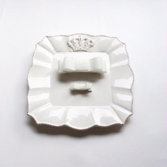 【親子お揃いセット】日本製リボン のホワイト