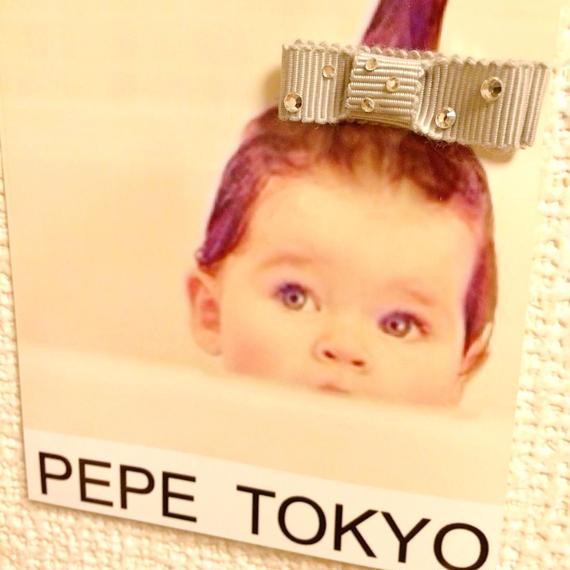Baby hair ストーン×グログラン37mm