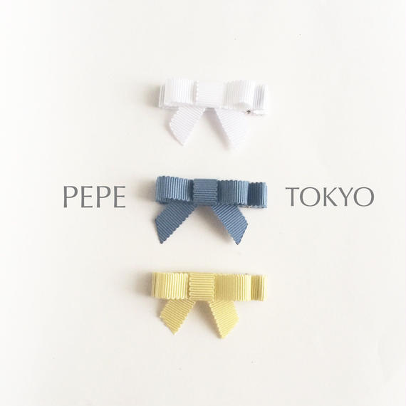【ヘアクリップ】日本製リボンの上品47mm