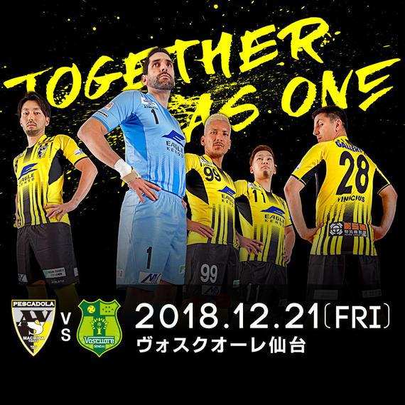 【一般】DUARIG Fリーグ2018/2019 第28節 町田vs仙台