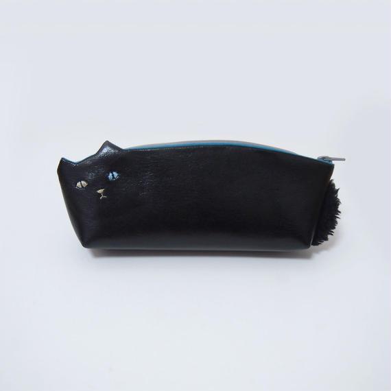 黒猫ペンケース【受注生産】