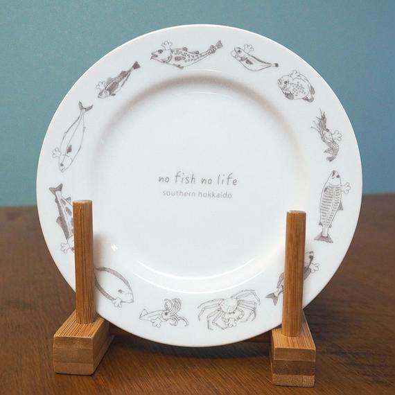 函館さかなプレート(函館さかなオールスターズ)2枚セット Hakodate Fish All Stars Plate