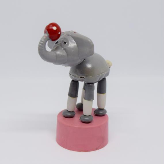 ハンガリー くにゃくにゃ人形 サーカスの象