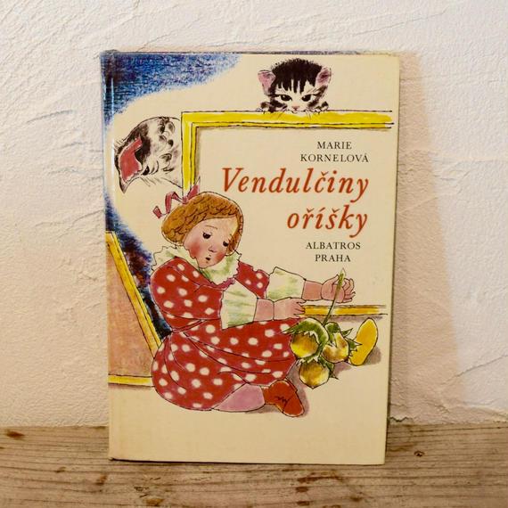 チェコ 絵本 「Vendulciny orisky」絵Vilma Kotbova-Vrbova