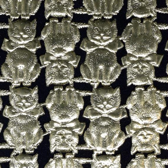 ドイツ ドレスデン ペーパー 猫 ゴールド 8セット