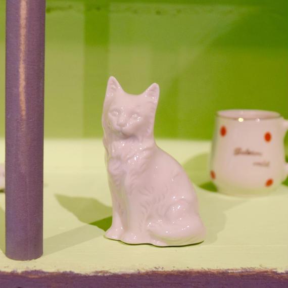ドイツ 高貴な猫さん フィギュリン