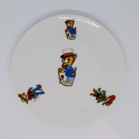 BAVARIA MITTERTEICH  1960−1970年代 クマ、ネコ、イヌの皿