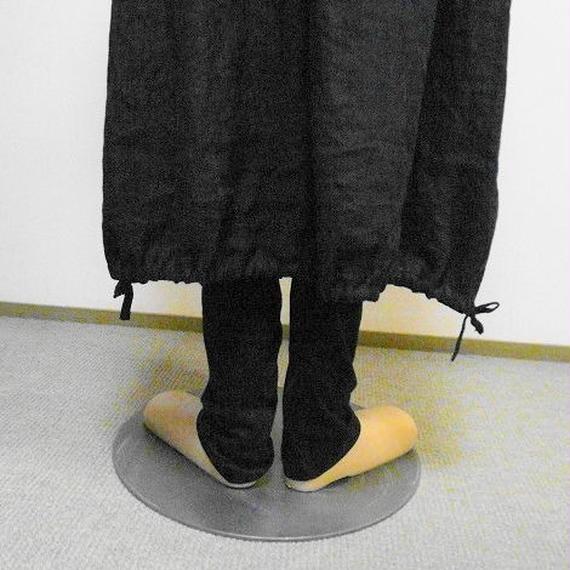 リネンダブルガーゼのバルーンスカート(コン)