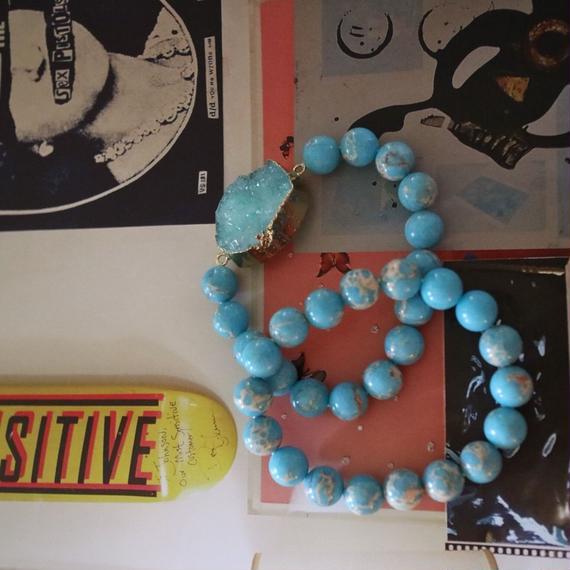 ターコイズ2本set bracelet