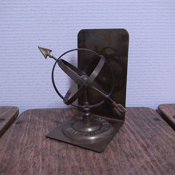 USA Vintage Brass BookEnd