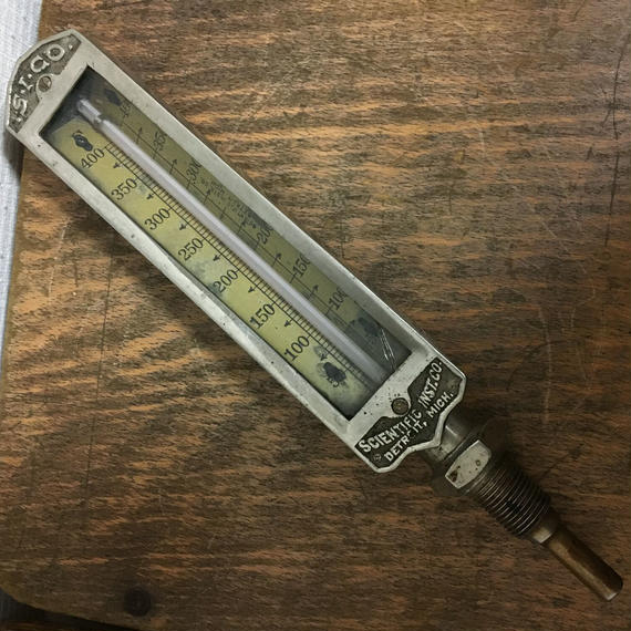 Vintage Industrial Thermometer