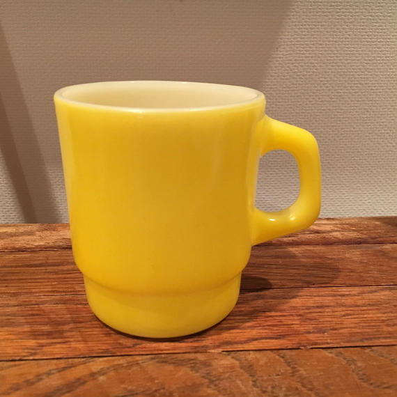 Fire King Stacking Mug :Yellow