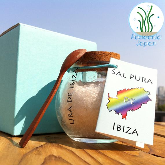 Sal pura de Ibiza 100g - イビサ島の純粋な海塩(粗粒)