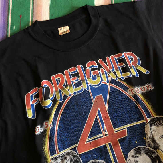 1980's FOREIGNER U.S.TOUR