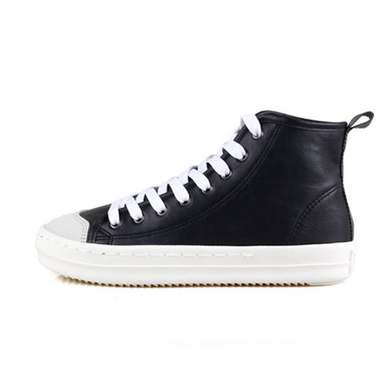 J.DAUL SUPERB LEATHER HIGH – BLACK