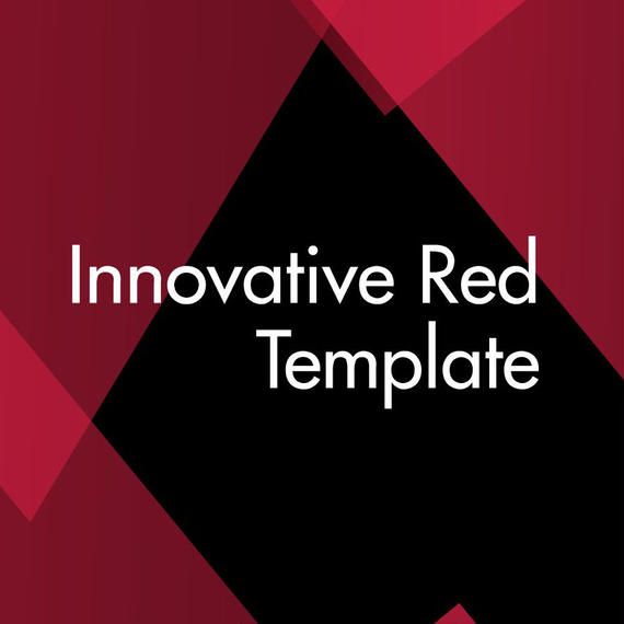 Innovative Red Template