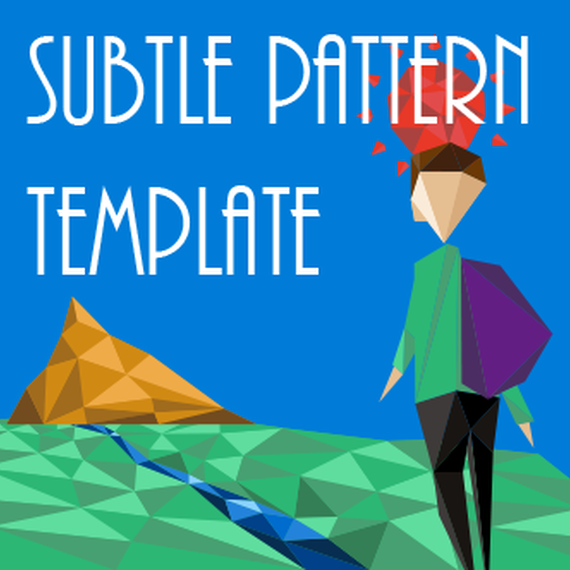 Prezi Subtle Pattern Template