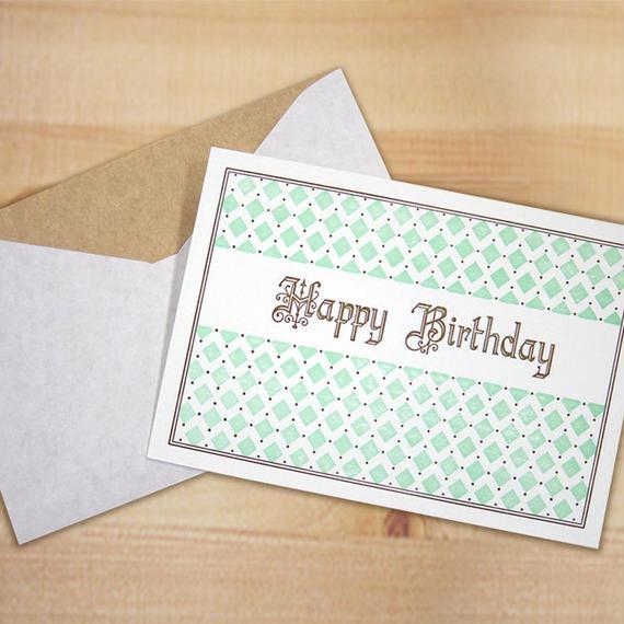 TKL013 ポストカード Happy Birthday