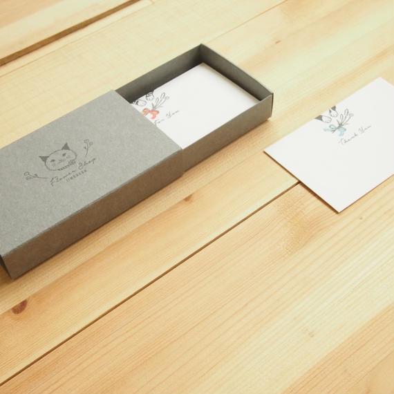 TKL029 カードボックス [グレー]