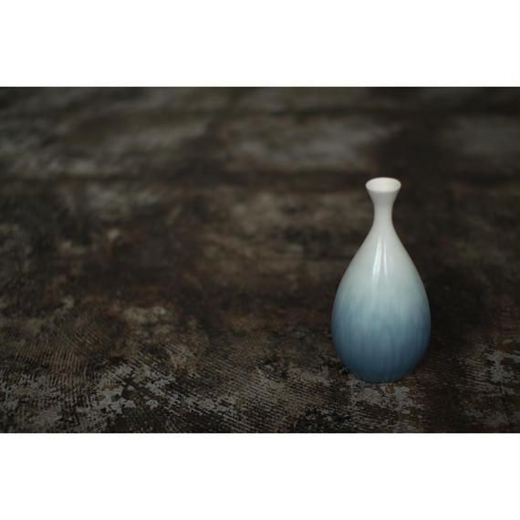 花器 アイスグリーン+ 岩崎龍二