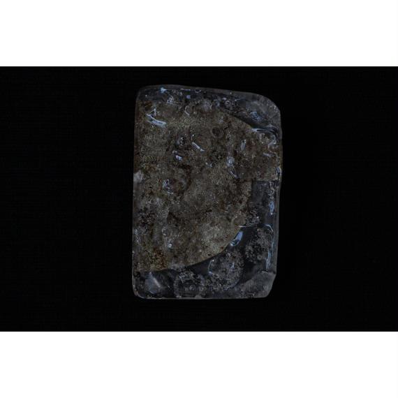 和紙と樹脂のブローチ PE-brooch-p48 pebbleworks