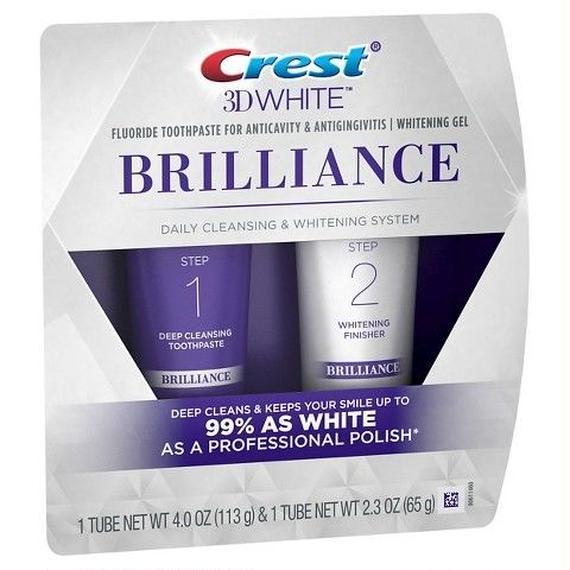 クレスト Crest 3D ホワイトブリリアンス デイリークレンジング 歯磨き粉 ホワイトニングジェルシステム 18787353