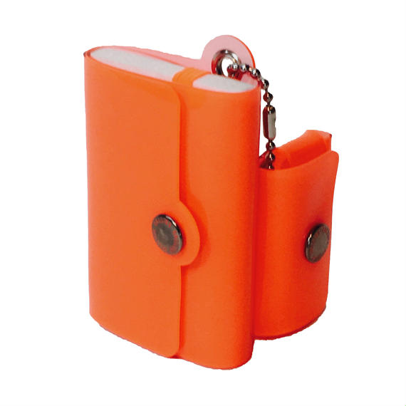 Minimal Wallet '' POCKET PAL ''   LUMI ORANGE → BEAMSにて先行販売中。