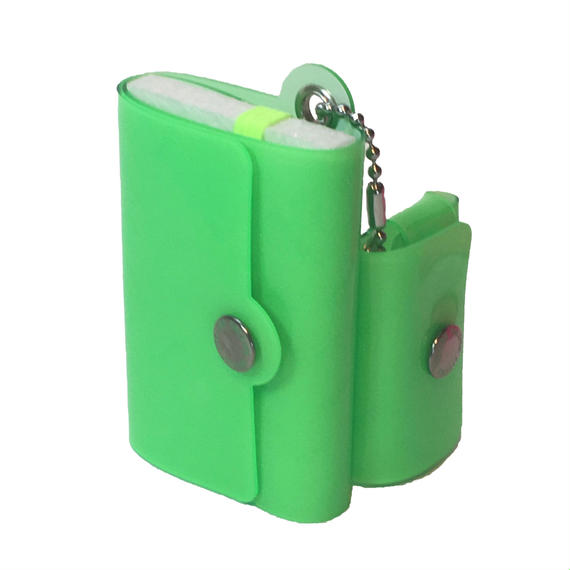Minimal Wallet '' POCKET PAL ''   LUMI GREEN → BEAMSにて先行販売中。