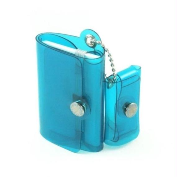 Minimal Wallet '' POCKET PAL ''   CLEAR BLUE