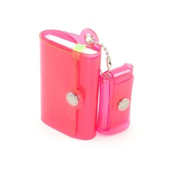 Minimal Wallet '' POCKET PAL ''   CLEAR PINK