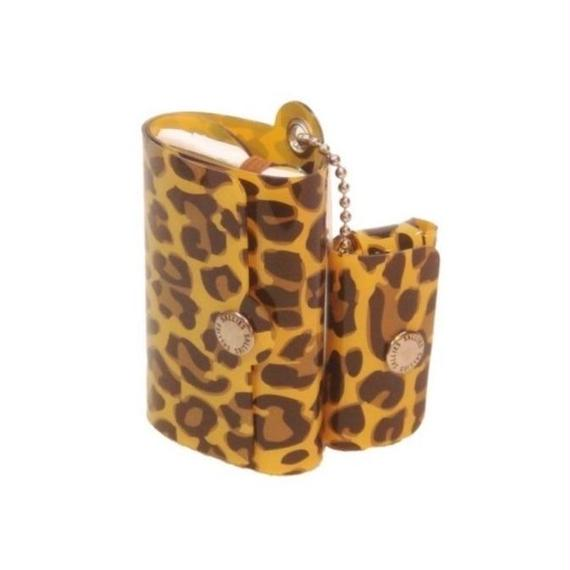 Minimal Wallet '' POCKET PAL ''  LEOPARD