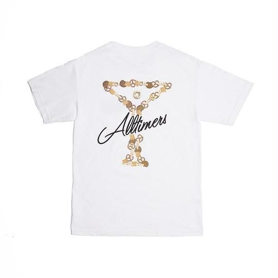 ALLTIMERS BAR MIX LOGO TEE WHITE