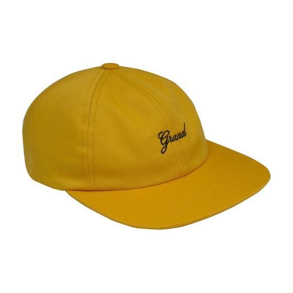 GRAND COLLECTION SCRIPT CAP GOLD
