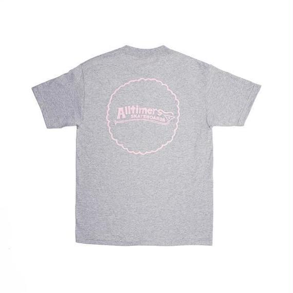 ALLTIMERS KEEN TEE HEATHER GREY