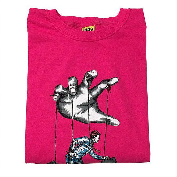 IGGY  FOOTLOOSE tee Cyber pink