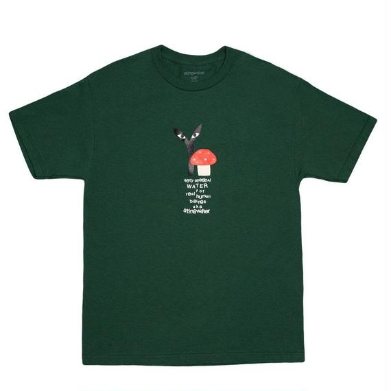 """Stingwater GREEN T-SHIRT """"GROE TOGETHER: RED CAP"""""""