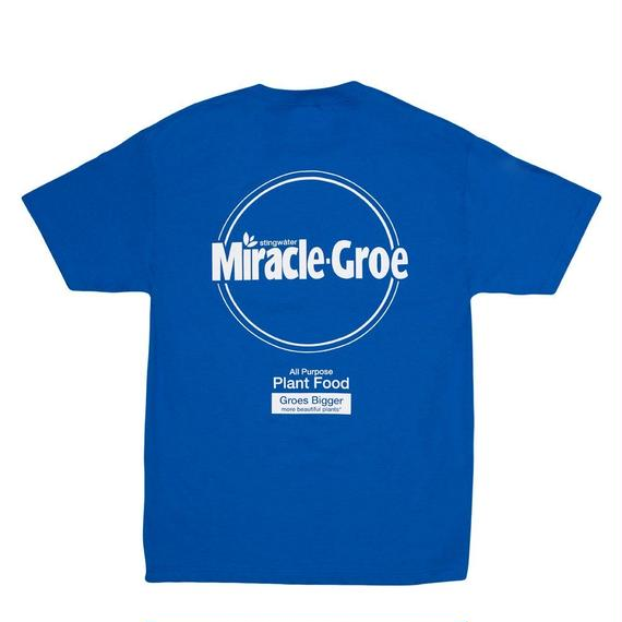 """Stingwater BLUE T-SHIRT """"MIRACLE-GROE"""""""