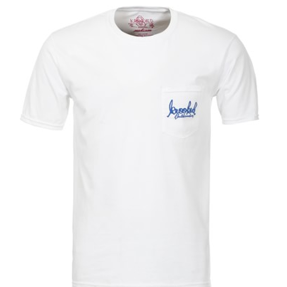 KROOKED SIGNATURE SK8 POCKET T-SHIRT