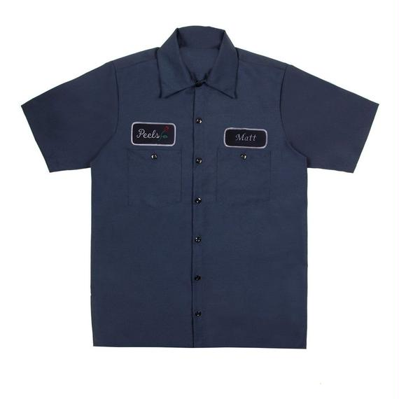 Peels NYC Rose Shirt Navy