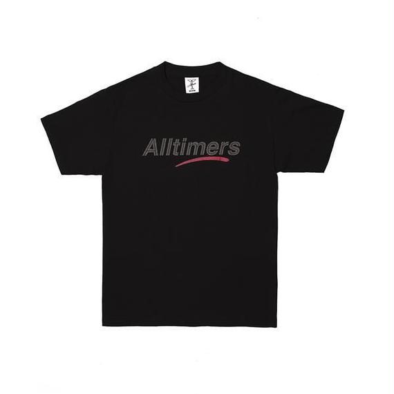 ALLTIMERS ESTATE TEE GLITTER INK BLACK