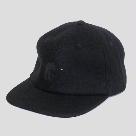 "PASS~PORT ""POOL"" WOOL CAP BLACK"