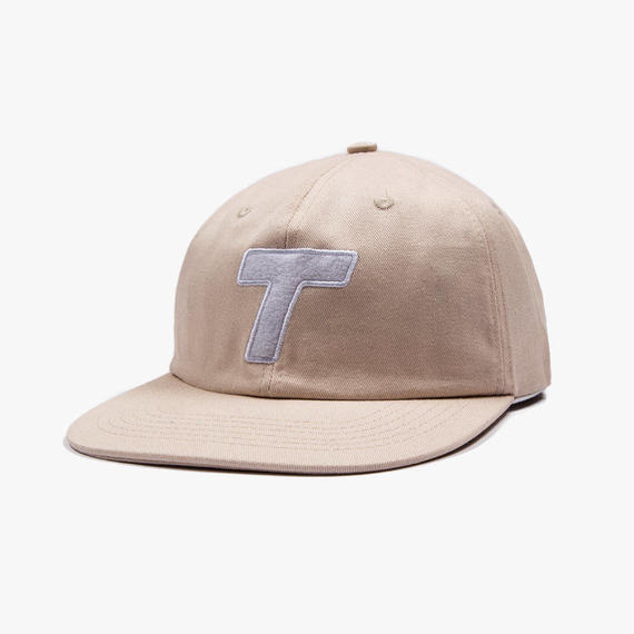 Theobalds Cap Co. Classic T Six Panel Cream / White