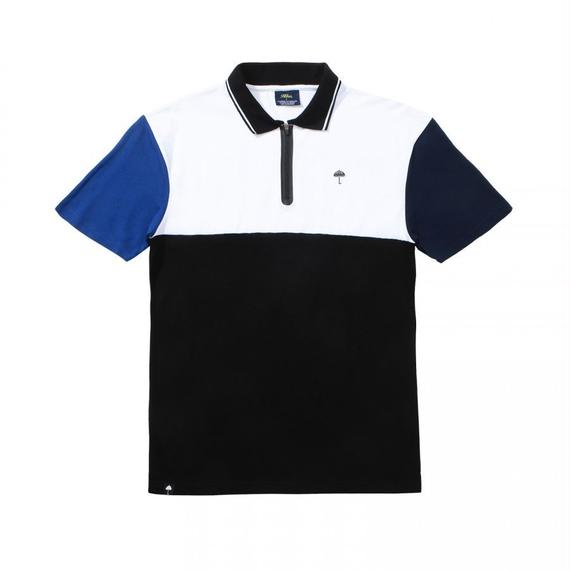 HELAS ZIPPY POLO BLACK
