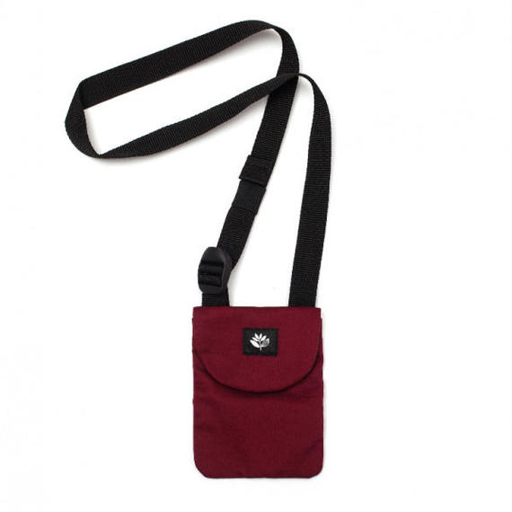 MAGENTA POUCH BAG RED