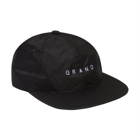 GRAND COLLECTION NYLON RIPSTOP CAP BLACK