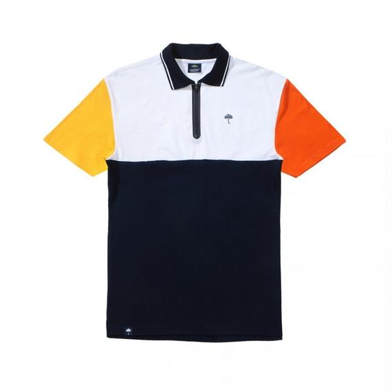 HELAS ZIPPY POLO NAVY