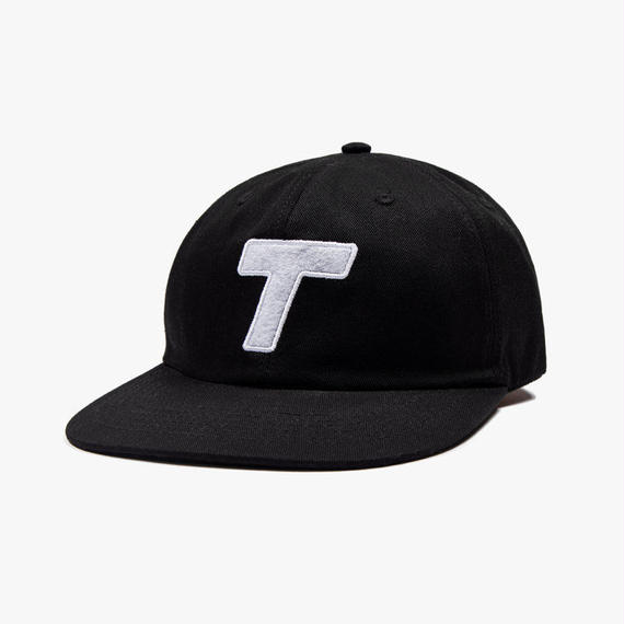 Theobalds Cap Co. Classic T Six Panel Black / White