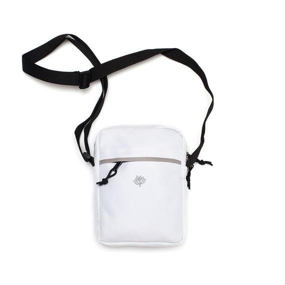MAGENTA XL POUCH - WHITE